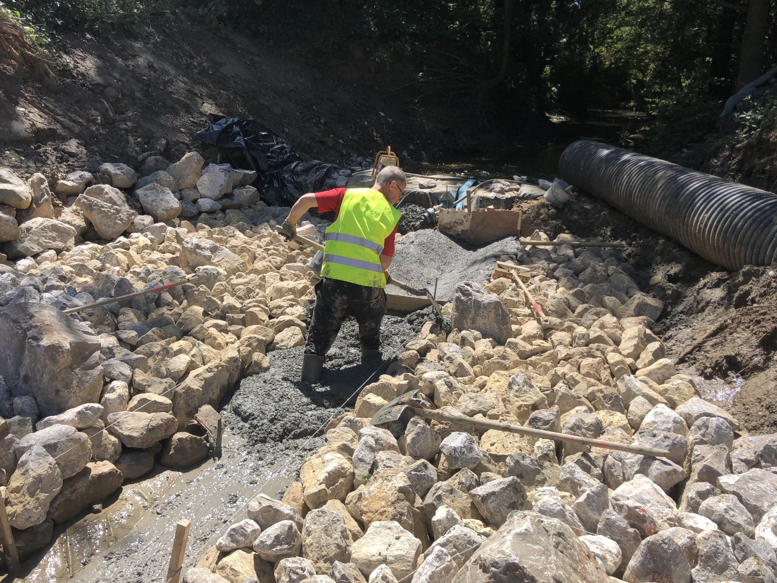 coulage de beton DELBENDE TRAVAUX