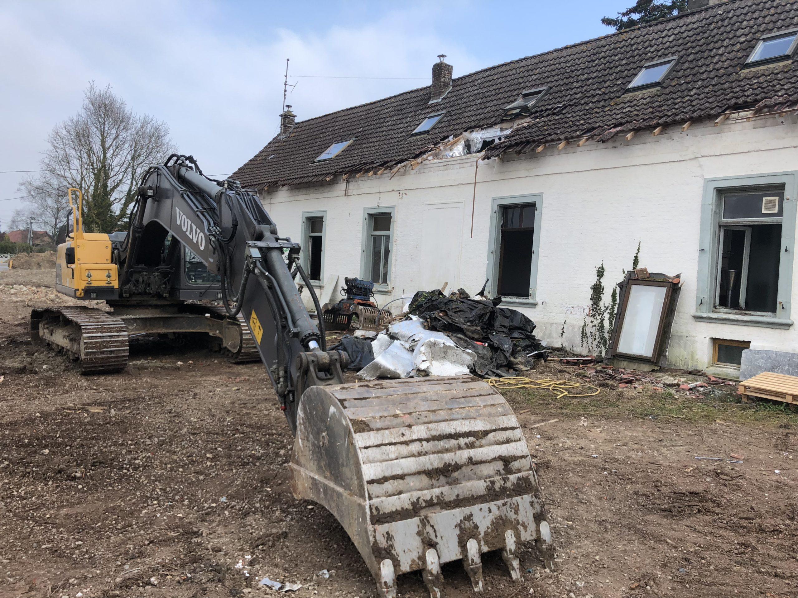 démolition d'une maison DELBENDE TRAVAUX