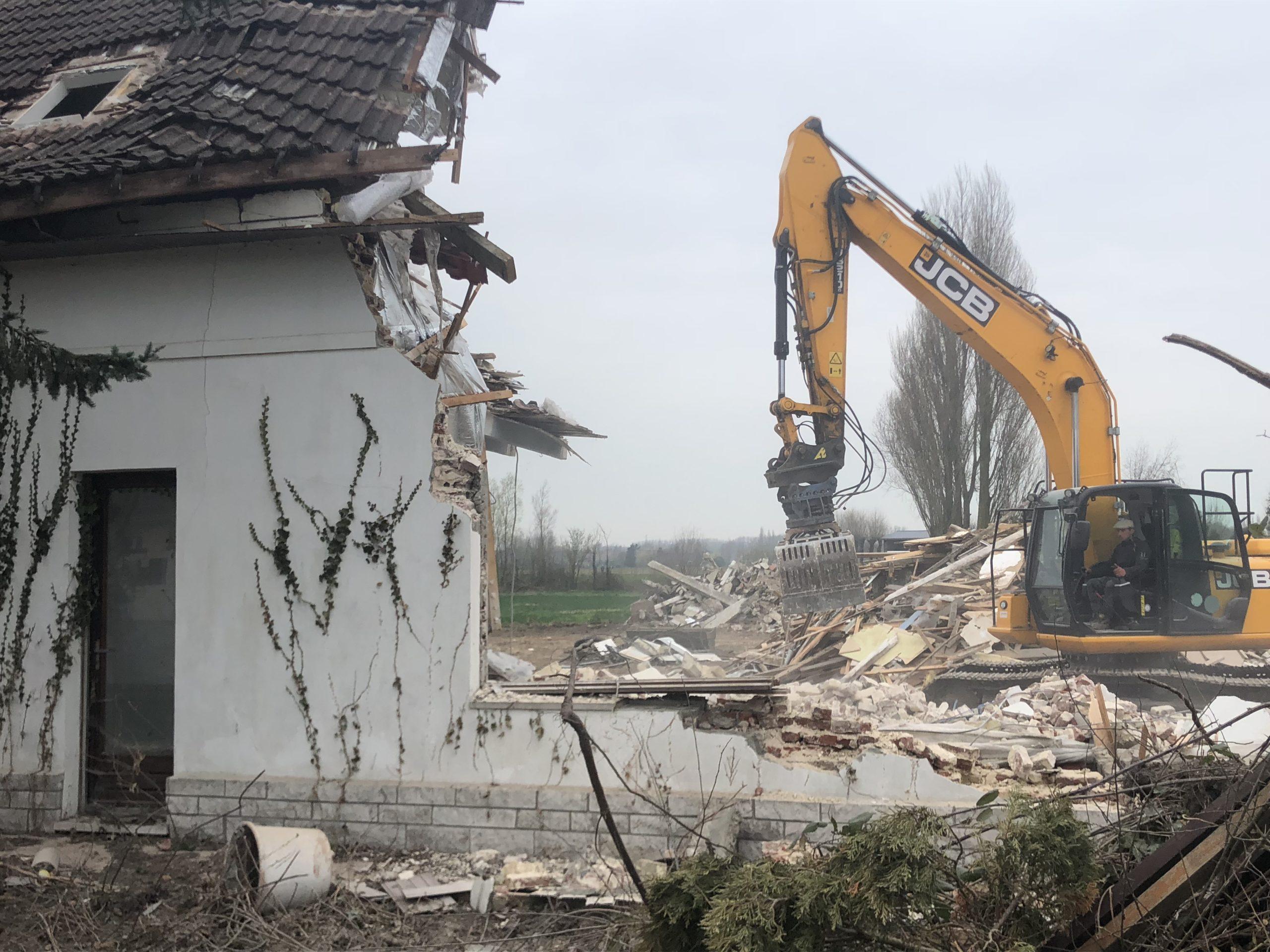 démolition d'une maison 3 DELBENDE TRAVAUX